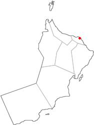Oman - Oman map png
