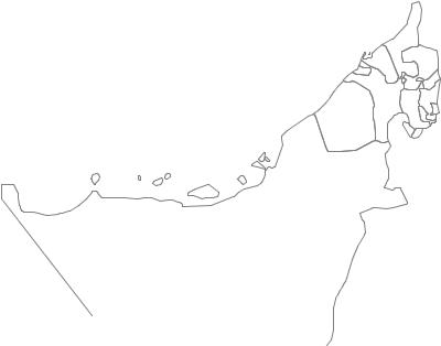 Administrative Division of United Arab Emirates