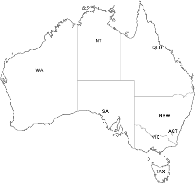 Postal Codes Western Australia Australia