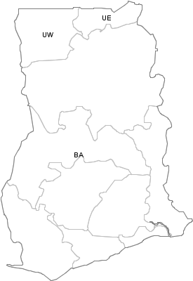Administrative Division of Ghana