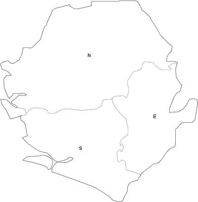 Administrative Division of Sierra Leone