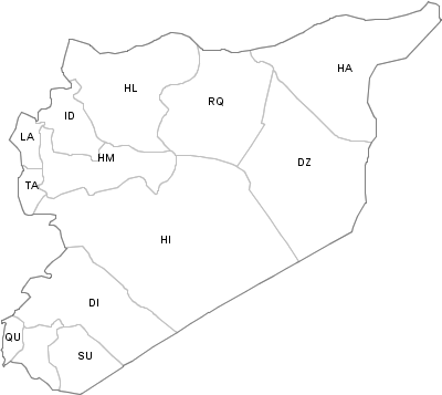 Administrative Division of Syria
