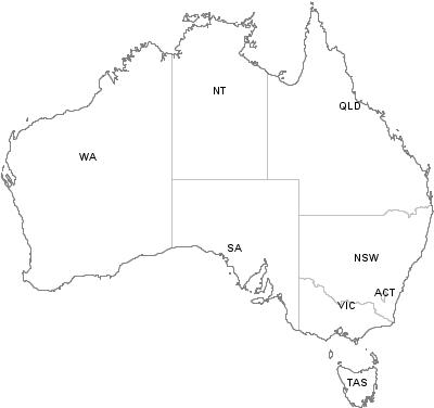 Map Australia 4074.Postal Codes Queensland Australia