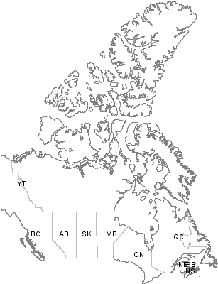 Postal Codes British Columbia, Canada